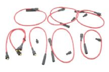 Set of 8 HT leads for carburettor models - Original Bougicord brand.
